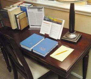 Bible Study Desk