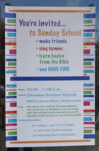 Welcome to Sunday School