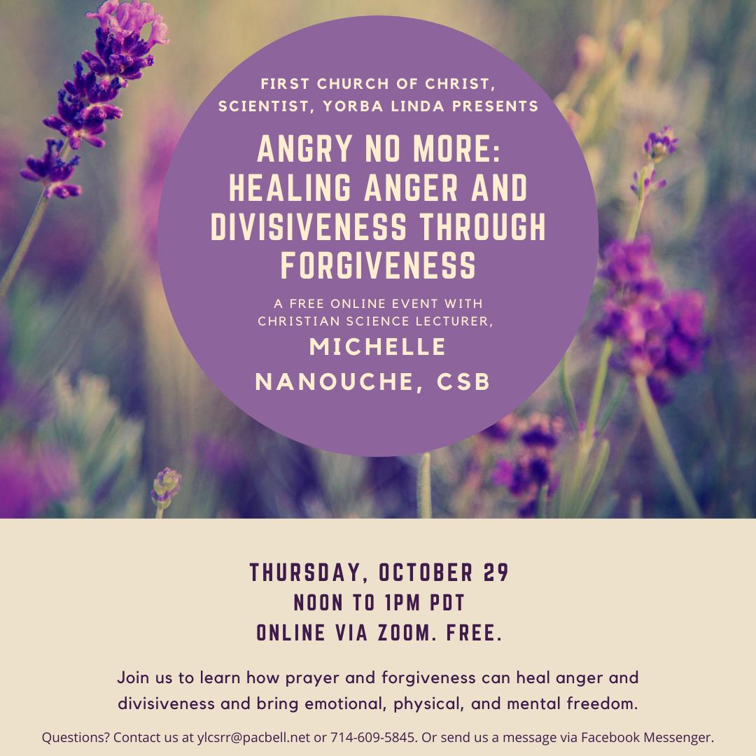 Thursday, October 29 Noon To 1pm Pdt Online Via Zoom. Register Here. Free. (1)